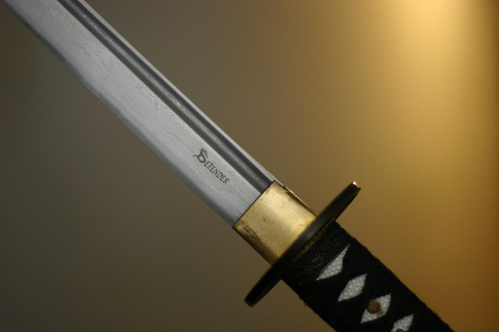 Defender - a beautiful blade.