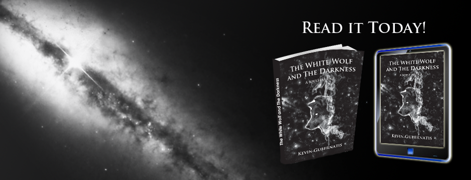 "Image showing book cover and ebook ""The White Wolf and the Darkness"""